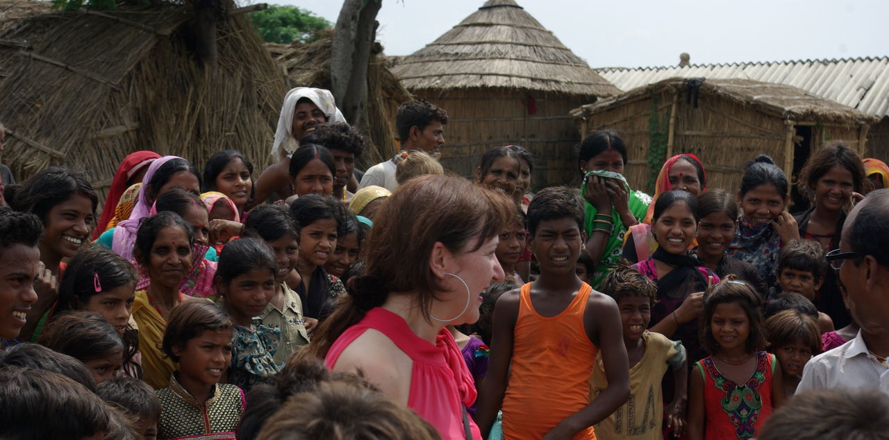 Dag 8 bezoek dorp - Patna