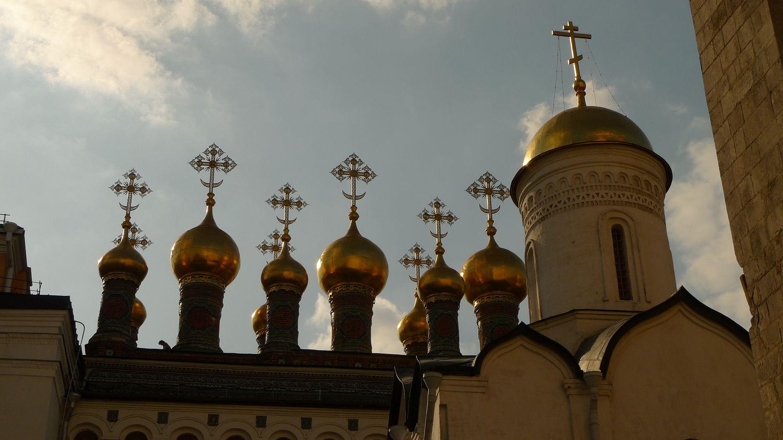 Kremlin, kathedralen en Wapenkamer