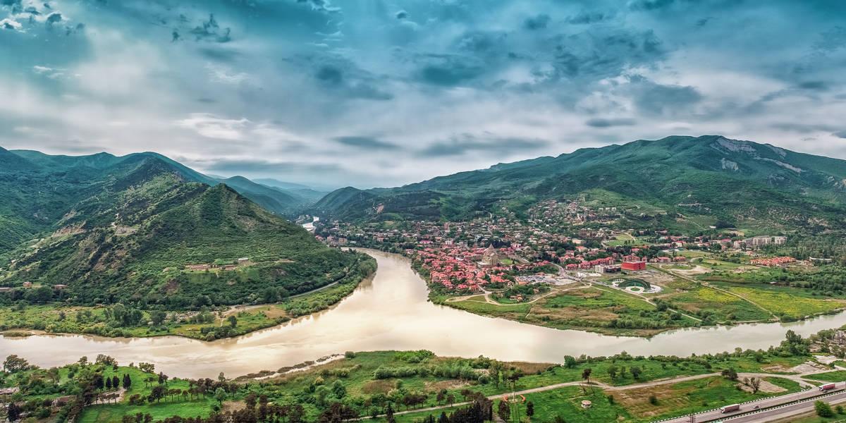 Dag 6 Tbilisi - Mtskheta - Uplistsilhe - Gori