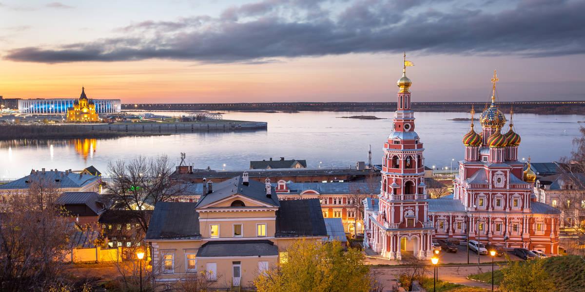 Dag 6 tot 8 Nizhny Novgorod